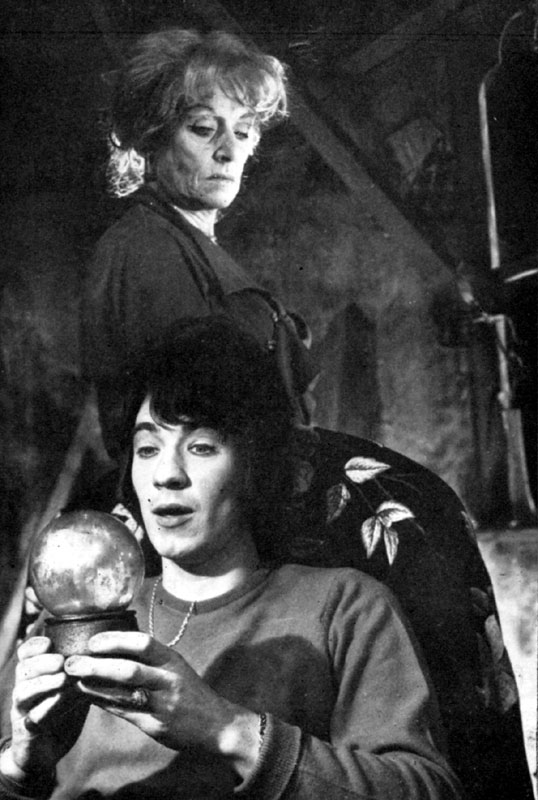 Dorothy Reynolds as Sophie and Ian McKellen as Tom in The White Liars<br><em> </em>