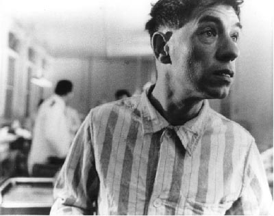 Walter (Ian McKellen) confused on his first day of incarceration in the mental hospital