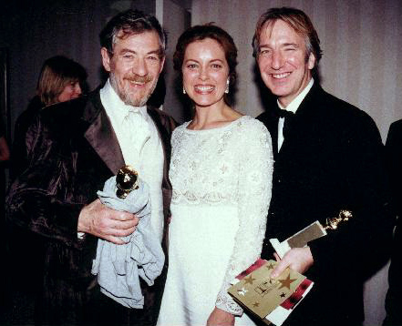 Alan Rickman Family Scacchi and alan rickman