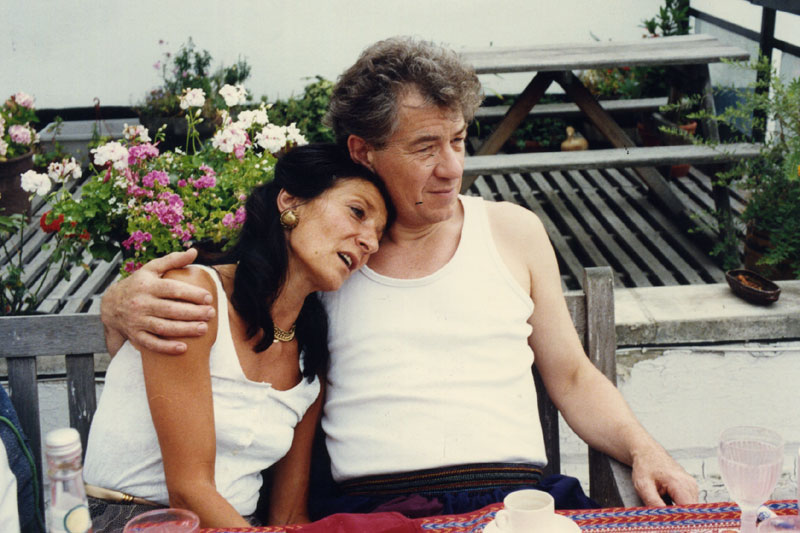 With Jane Lapotaire, London 1990<br><i> </i>