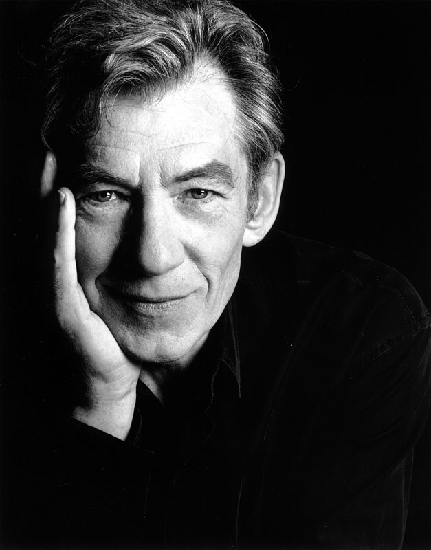 Ian McKellen by Greg Gorman