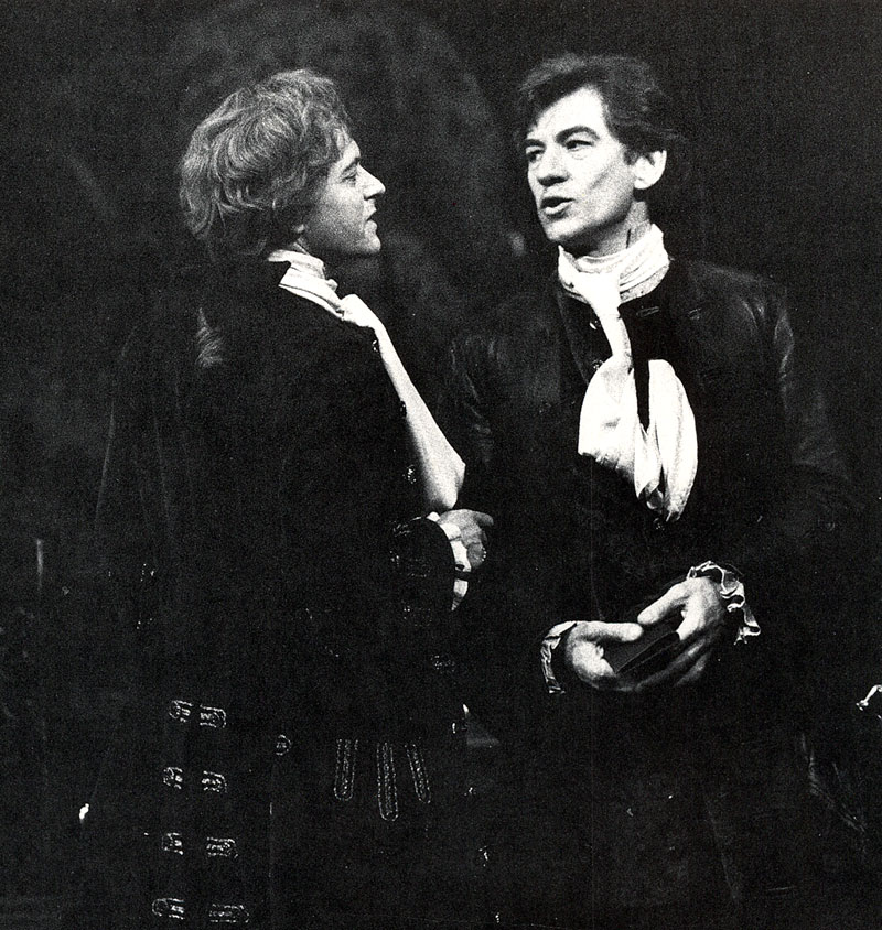 Javier (Michael Pennington) and Pierre (Ian McKellen)<br><i> </i>