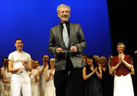 13 December 2009 Ian McKellen celebrates the 60th birthday of Rugby Theatre