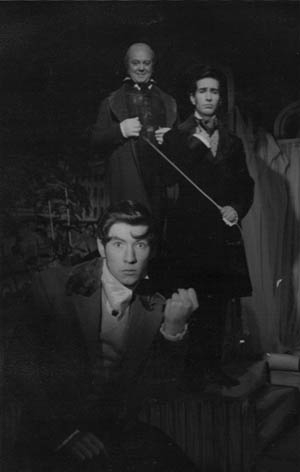 Nightmare Sequence L to R: Ian McKellen, Brendan Barry, Alec Wallis<br><i> </i>