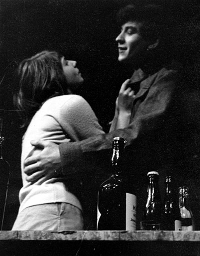 Anna (Margaret Drabble) and Harry (Ian McKellen), London production<br><em> </em>