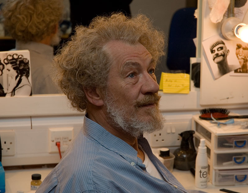 Ian McKellen as Sorin in The Seagull