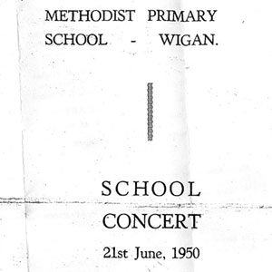 1950,   Programme  - Document by courtesy Roy Kneale