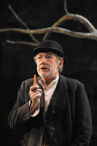 Ian McKellen in Waiting for Godot