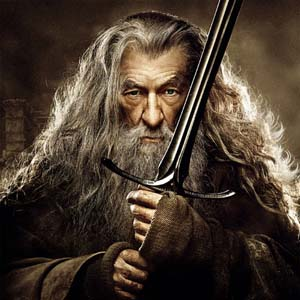 Gandalf character poster for The Hobbit: The Desolation of Smaug