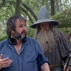With Director Peter Jackson