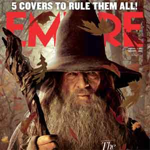 Gandalf the Grey: 3D Empire Cover