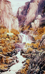 Rivendell by Alan Lee � Alan Lee