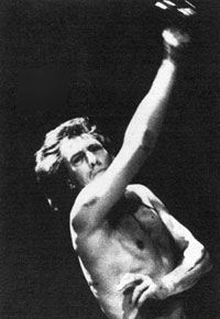 Ian McKellen as Coriolanus, 1984