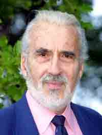 Christopher Lee in Cannes for Lord of the Rings