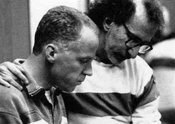 Michael Cashman (Horst) and Martin Sherman (Playwright) in rehearsal<br><em>Simon Annand</em>