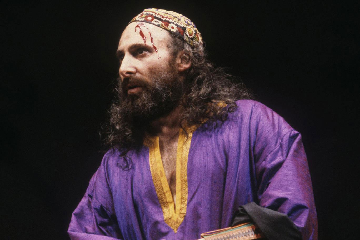 Antony Sher as Shylock in the RSC production of The Merchant of Venice (1987), Photo by Ivan Kyncl