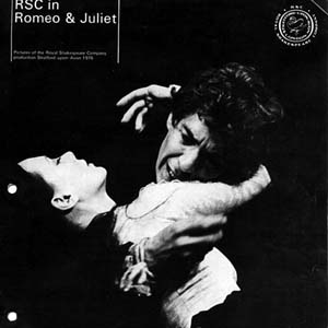 1976, ROMEO AND JULIET (1976): RSC Programme