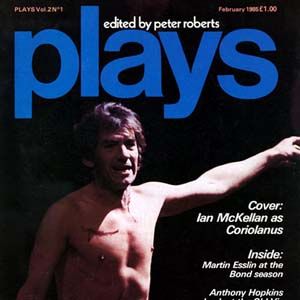 1985, CORIOLANUS (1984-5): Plays, February 1985