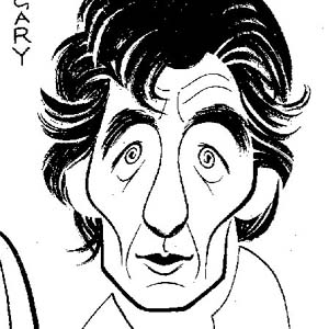 1986?, ACTING SHAKESPEARE (London 1986): Caricature  - Sketch by Gary