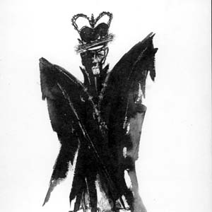 1990, RICHARD III: Richard III  - Sketch by Jill Jeffrey