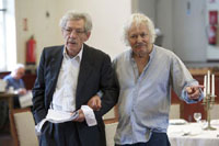 Ian McKellen and Michael Pennington (Rehearsal)
