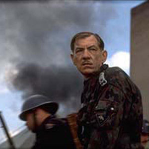 Richard III (Ian McKellen) in final battle