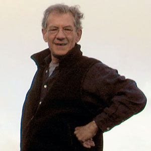 Ian McKellen, New Zealand, 2000, Photo by Keith Stern