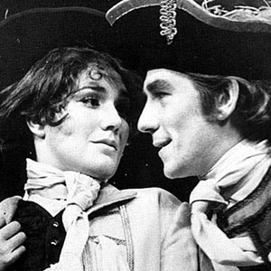 Susan Fleetwood (Sylvia) with Ian McKellen (Captain Plume)