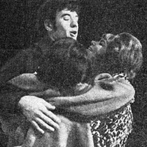 1964, SATURDAY NIGHT AND SUNDAY MORNING: Ian McKellen, Ursula Smith, and Joan Heal