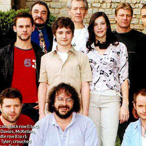 2001, THE LORD OF THE RINGS: THE FELLOWSHIP OF THE RING: Photo call at Cannes