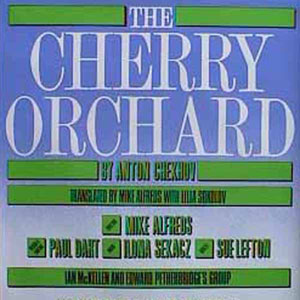 1985, THE CHERRY ORCHARD: Theatre Poster