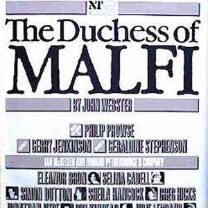 1985, THE DUCHESS OF MALFI: Theatre Poster