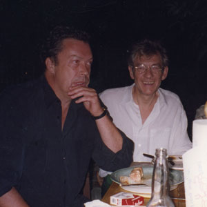 1998,   Dinner in Hollywood: Tim Curry, Ian McKellen, Jack Morrissey, Bill Condon