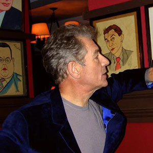 At Sardi's (Interview for South Bank Show), Photo by Keith Stern