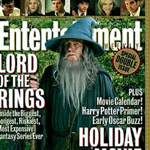 Entertainment Weekly Cover, November 12 2001