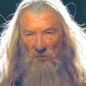 2001, THE LORD OF THE RINGS: THE FELLOWSHIP OF THE RING: Gandalf