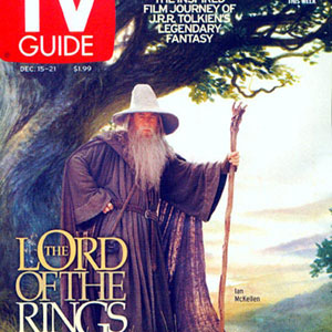 2001, THE LORD OF THE RINGS: THE FELLOWSHIP OF THE RING: TV Guide, 21 December 2001