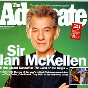 2001, THE LORD OF THE RINGS: THE FELLOWSHIP OF THE RING: Advocate, 25 December 2001