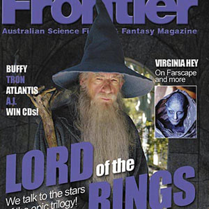 2001, THE LORD OF THE RINGS: THE FELLOWSHIP OF THE RING: Frontier Magazine (Australia)