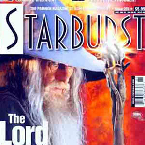 2001, THE LORD OF THE RINGS: THE FELLOWSHIP OF THE RING: Starburst Magazine  - Photo by Pierre Vinet