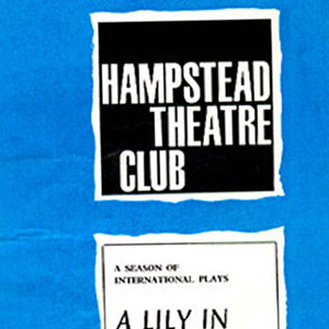 1965, A LILY IN LITTLE INDIA: Programme Cover
