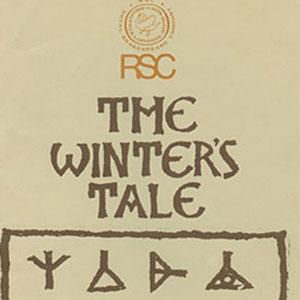1976, THE WINTER'S TALE: Programme Cover
