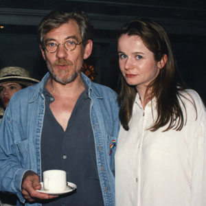1997,   BAFTA Tea with Emily Watson and her h