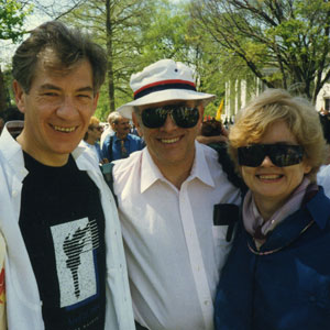 Jenny Littlefield, cousins David & Joanne Reiss, March on Washington