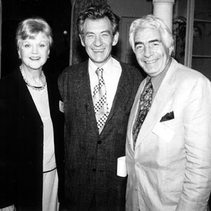 With Angela Lansbury and Gordon Davidson (director of LA Music Centre)