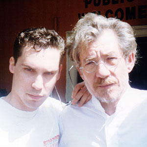 1997, APT PUPIL: With Bryan Singer (Director) <BR><BR> <em>I was very impressed by Bryans first full-length feature The Usual Suspects and I checked with Kevin Spacey that hed enjoyed filming it.  Bryan casts his actors well, often taking a risk.  On set, he will not leave a scene until he has seen just what he needs for later editing.  He watches filming on a video monitor, often with a visiting group of friends, whose comments encourage him.</em>