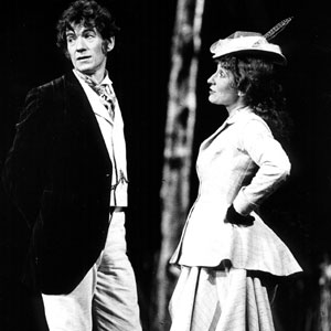 1984, WILD HONEY: With Charlotte Cornwell (Anna Petrovna)  - Photo by John Haynes