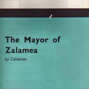 1964, THE MAYOR OF ZALAMEA: Programme