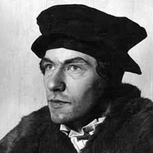 1964, SIR THOMAS MORE: Ian McKellen as Sir Thomas More <BR><BR><I>I was too young but enjoyed trying to look like the real Sir Thomas � this photo was taken in my dressing-room. </I>