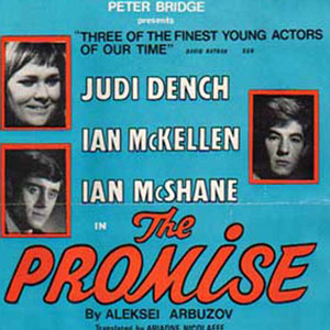1967, THE PROMISE (My Poor Marat): Theatrical Poster